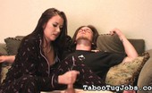 Taboo Tug Jobs Bed Time Jerk Off Alexis Alexis Has Been Having A Hard Time Sleeping. She Wakes Up In The Middle Of The Night, Tossing And Turning For A Bit, Then Left Awake. Alexis Does Get Sleepy After Jerking A Hard Cock. Taboo Tug Jobs