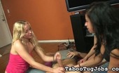 Taboo Tug Jobs Kelly Ava And Julie Play A Cock Jerking Game Kelly, Ava, And Julie Have Been Best Friends Since Middle School. Yet, They Haven'T Been Able To Share A Thing. Pass Pass Jerk Is A Good Way To Settle Matters. Taboo Tug Jobs