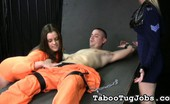 Taboo Tug Jobs Prisoner Katie 49 Katie Has Been In Prison For Quite Some Time. A Hot Girl Like Her Who Gets Horny On A Regular Basis Won'T Do Well Behind Bars. Taboo Tug Jobs