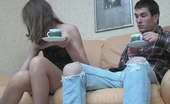 Anal Screen Kitty & Vitas After A Cup Of Coffee Sexy Babe Hiking Up Her Skirt Freeing Her Rear Entry Anal Screen