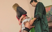 Anal Screen Olivia & Rudolf Sex-Crazy French Maid And Her Master Taking Kicks From A Hot Oral-Anal Fun Anal Screen