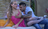 Anal Screen Barbara & Frederic Flirty Babe With No Panties Under Her Dress Gets An Easy Prey For Anal Sex Anal Screen