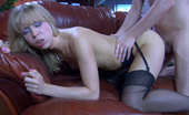 Anal Screen Felicia Black-Stockinged Blonde Blows Meat And Sticks Up Her Fuckable Booty In 2sum Anal Screen