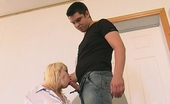 Action Matures Carol & Adam Usual Lesson Ends Up With Doggystyle Bout For Mature Chick And Her Student Action Matures
