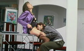 Action Matures Helena & Danil Usual Working Day Ends Up With Outrageous Doggystyle Fucking For Kinky Mom Action Matures