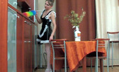 Action Matures Madge & Mike Raunchy Mature French Maid Pulls Up Her Skirt For Frenzied Fucking On Table Action Matures