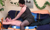 Action Matures Emma & John Chubby Mature Chick Going Down Route Sixty-Nine Before Having A Lay On Sofa Action Matures