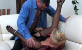 Action Matures Bridget & Connor Slutty Mature Chick Opening Her Crack For Big Meatstick Right On The Sofa Action Matures