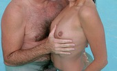 Daddy Gets Lucky Melanie Scott Cute Melanie Scott Shows Her Nasty Side To This Old Guy Daddy Gets Lucky