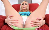 I Love Mini Skirts Kathy Seeger Hot Blonde In Green Mini Skirt Poses And Spreads Her Long Legs I Love Mini Skirts