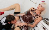 Burning Angel Kleio Valentien & Mr.Pete Honey! Mr. Pete'S Home! Kleio Valentien Does Her Lucille Ball For This Homage To Classic American TV 1950'S Sitcom, I Love Lucy! Pete'S Loyal Wife Was To Have Dinner Ready By The Time He Came Home, But It Wasn'T Finished. Or Star