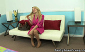 Pantyhose Creep 504788 Stella Banxxx Stella Banxxx'S Pink Trench Coat Our Creepy Camera Man Has Found A New Fantasy. He Wants To Find Out If Stella Banxxx Is Only Wearing Pantyhose Under Her Hot Pink Trench Coat. Pantyhose Creep