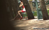 Pantyhose Creep 504813 Nickey Huntsman Nickey Huntsman In Hot Red High Heels 94 Our Creepy Camera Man Was Having A Hard Time Finding A Hottie In Pantyhose. Walking Down The Street, He Spots A Pair Of Tall Red High Heels. That'S Enough To Win Over His Intrigue. Pantyhose Creep
