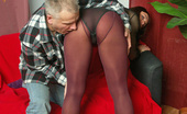 Pantyhose Colors Purple And Violet Pantyhose Couple Fucking HardPurple Pantyhose Brunette Ulla Fucks Her Weird Boyfriend In Violet Pantyhose So They Both Are Completely Happy With Pantyhose Fetish Sex Pantyhose Colors