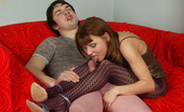 Pantyhose Colors 504850 Purple Pantyhose Girl Blowjobs And Fucks Her Pink Pantyhose GuyTeen Redhead Ira In Purple Pantyhose Sucking Dick Of Her Boyfriend Wearing Pink Pantyhose And Gets Hardcore Fuck From Him Pantyhose Colors