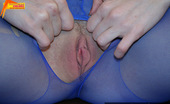 Pantyhose Colors 504875 Blue Pantyhose Masturbation Of Pretty Teen BrunetteAwesome Teen Brunette Vika Rips Her Blue Pantyhose To Sexy Fetish Masturbation Of Her Shaved Nasty Pussy Pantyhose Colors