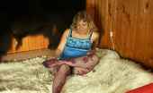 Pantyhose Colors Blonde In Purple Fishnet PantyhoseNaughty Blonde Kylie Loves Her Purple Fishnet Pantyhose And This Time She Wants To Enjoy Them In Full Pantyhose Colors