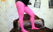 Pantyhose Colors Magenta Pantyhose Teen GirlTeen Blonde Dunya In Magenta Pantyhose Licks Her Pantyhose And Excites From Her Nylon Games Pantyhose Colors