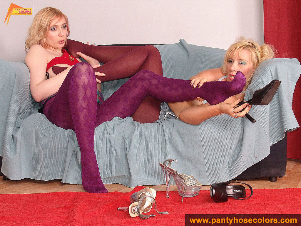 Pantyhose Colors Purple And Violet Pantyhose LesbiansPurple ...