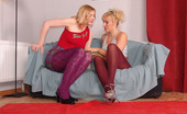 Pantyhose Colors Purple And Violet Pantyhose LesbiansPurple Pantyhose Mom Taisia Seduces Her Younger Girlfriend Olga Wearing Violet Pantyhose Into Lesbian Pantyhose Fetish Sex Pantyhose Colors