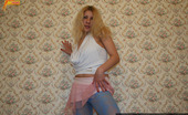 Pantyhose Colors Blue Pantyhose Turn On Teen BlondeTeen Blonde Roberta Wearing Blue Pantyhose And Playing With Her Colored Nylond On The Bed Pantyhose Colors