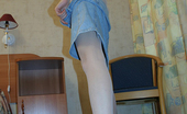 Pantyhose Colors Blue And White Pantyhose Of Teen GirlPantyhose Posing Of Teen Brunette Natalie Trying Her New Bright White And Blue Pantyhose Pantyhose Colors