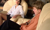 Pantyhose Jobs Emmie & Jerry Lascivious Chick Savoring Fervent Pussy Massage With Her Silky Pantyhose On Pantyhose Jobs