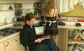 Pantyhose Jobs Alice & Mike Sexy French Maid Uses Extra Pantyhose While Having Kinky Sex With A Master Pantyhose Jobs