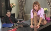 Pantyhose Jobs Alice & Mike Smashing Secretary Showing Her Boss Some Tricks With Soft Silky Pantyhose Pantyhose Jobs