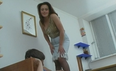 Pantyhose Line Ella & Hugo Hottie Fulfilling Her Nasty Dreams Playing Numbers Game With Her Tights On Pantyhose Line