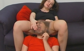 Pantyhose Line Nora & Danil Filthy Guy Sliding His Head Under Pantyhose Waistband Aching To Taste Pussy Pantyhose Line