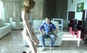 Pantyhose Line Emilia & Rolf Hot Teaser In Control Top Hose Getting Eaten Thru Tights In Oral Foreplay Pantyhose Line