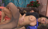 Pantyhose Line Rebecca & Govard Classy Blonde Gets Her Sleek Pantyhosed Pussy Licked And Dicked From Behind Pantyhose Line