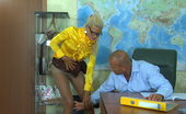 Pantyhose Line Hannah & Benjamin Hot Teacher In Silky Soft Tights Screwing With Her Nylon Obsessed Co-Worker Pantyhose Line