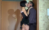 Pantyhose Line Kathleen & Frank Passion Driven Couple Hardly Makes It To The Bed To Have Hot Pantyhose Sex Pantyhose Line