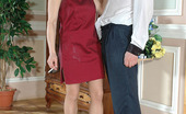 Pantyhose Line Ethel & Adam Sweet Newly-Weds Aching For Outrageous Nylon Sex After Sizzling Hot Party Pantyhose Line