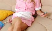 Pantyhose Line Leah & Vitas Hot Dude Spanking Naughty French Maid Before Savoring Frenzied Pantyhosejob Pantyhose Line