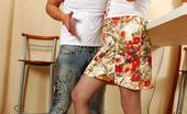 Pantyhose Line Joan & Adrian Upskirt Chick Getting Eaten Through Pantyhose Before Breathtaking Boning Pantyhose Line