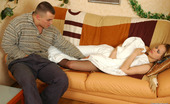 Pantyhose Line Susanna & Oscar Sizzling Hot Guy Wetting Babe'S Pantyhose Craving For Mind-Blowing Legjob Pantyhose Line