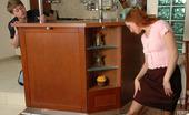 Pantyhose Line Rita & Arthur Lascivious Babe Letting Her Boyfriend To Cream Her Newly Bought Pantyhose Pantyhose Line