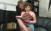 Pantyhose Tales Greta & Adrian Cutie Putting Aside A Book Savoring Hot Fucking Through Her Torn Pantyhose Pantyhose Tales