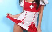 Naughty Miko Miko Dressed Up As A Naughty Nurse Naughty Miko