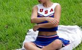 Cheerleader Hardcore Check Out This Naughty Cheerleader As She Gets Naked In The Outdoors And Makes Her Pussy Wet Cheerleader Hardcore