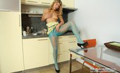 Hide Nylons Kristy Lust Vanesa Dildoing Her Tight Cunny Through Chalky Hose Nylons Hide Nylons