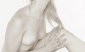 Glam Deluxe Stunning Blonde Poses Naked Exposing Her Sensual Body Glam Deluxe