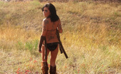 GND Models Deja Dejas Out Hunting In Her Tiny Bikini GND Models