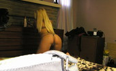 GND Monroe Monroe Shows Off Her Tight Round Ass In A Leopard Print Thong GND Monroe