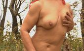Granny Ultra Naughty Granny Anna Mary Got Herself A Fuck Buddy And Enjoyed Outdoor Pussy Pounding Live Granny Ultra