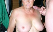 Granny Ultra Big Tits Granny Ginger Spice Works A Cock In Her Mouth And Take Nasty Cum Facial Granny Ultra