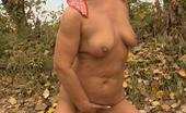 Granny Ultra Horny Szandra Showing Off Her Wet Granny Pussy And Cramming It With A Thick Cock Granny Ultra